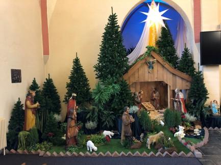 kerstmis vieren bij de Zusters